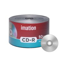 50 Pack Imation CD-R 52X 700MB/80Min Branded Logo Blank Media Recordable Data Disc