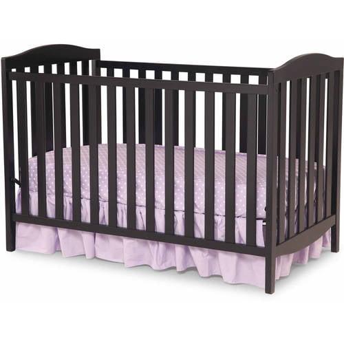 Delta Children Capri 3-in-1 Fixed-Side Crib, (Choose Your Finish)