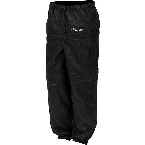 Frogg Toggs Pro Action Pant, Black by Frogg Toggs