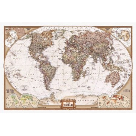 World map poster poster print walmart world map poster poster print gumiabroncs Images