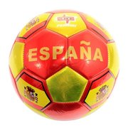 8060 Chrome Color Spain Flag Soccer Ball Practice - Official Size 5