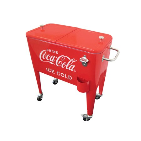 Leigh Country 60 Qt  Retro (Ice Cold) Coca-Cola Cooler