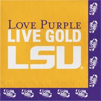 Louisiana State University Napkins, 20 pk