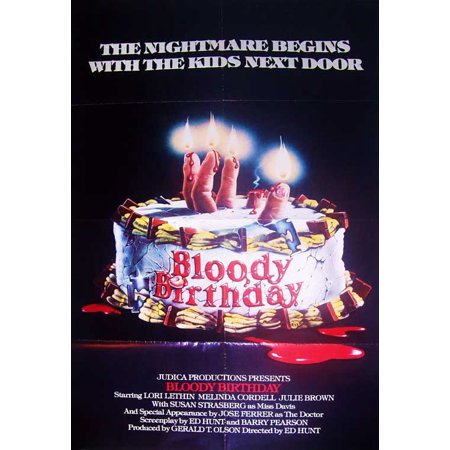 Bloody Birthday - movie POSTER (Style A) (11