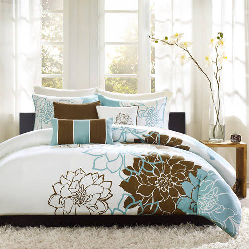 Home Essence Farrah 6-Piece Printed Duvet Cover Set