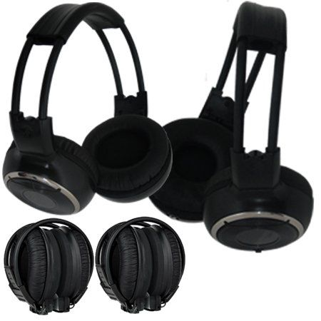 Image of Absolute AWH22 Infrared Wireless Stereo Dual Headphone with IR Wireless Transmitter