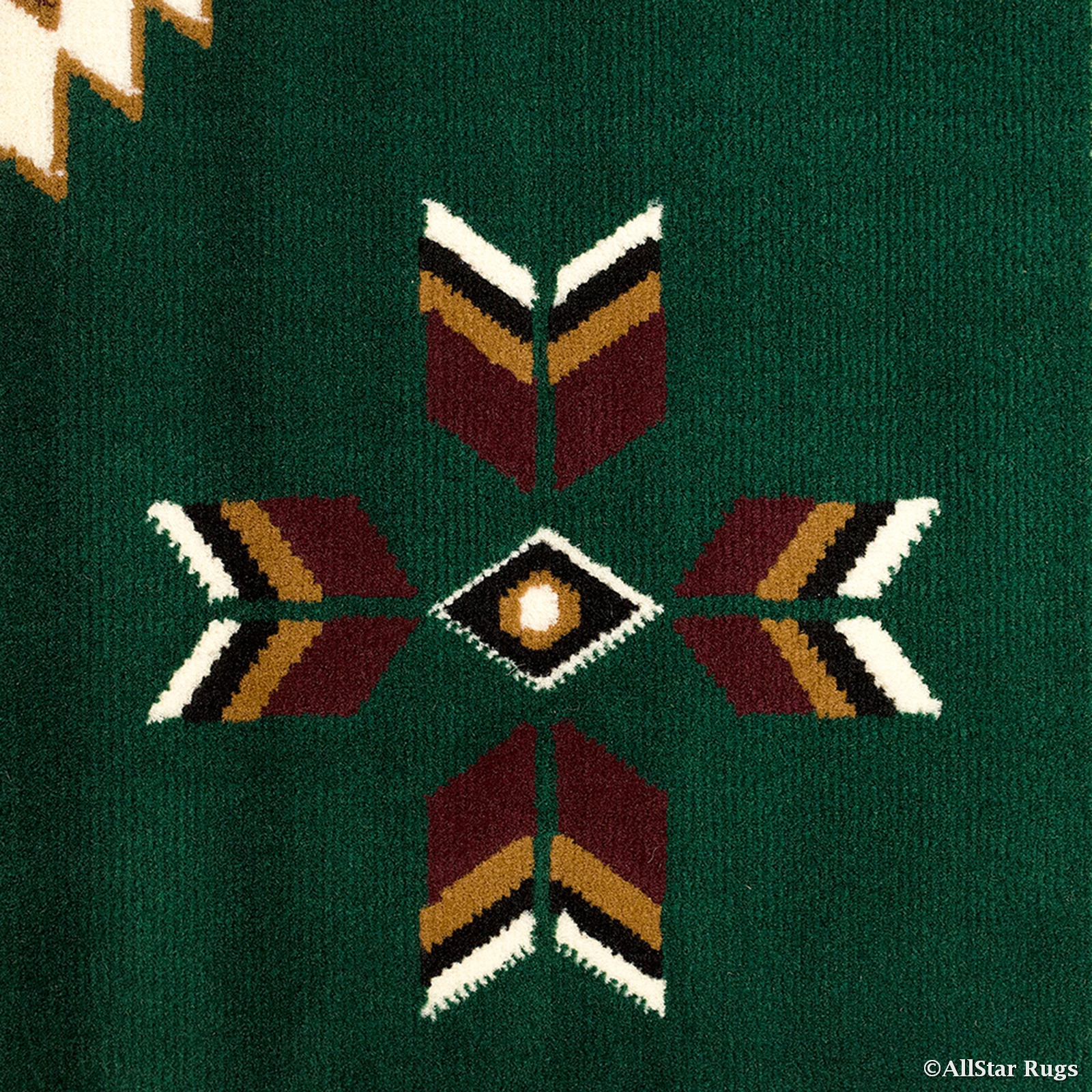 Allstar Green Doormat Accent Rug Woven High Quality Doormat Accent Rug. Traditional.... by