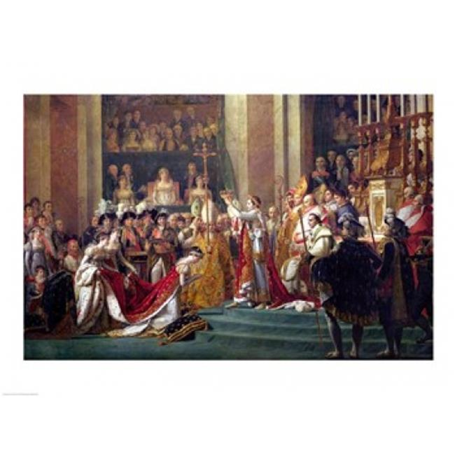 Posterazzi BALXIR31844 The Consecration of The Emperor Napoleon Poster Print by Jacques-Louis David - 24 x 18 in. - image 1 de 1