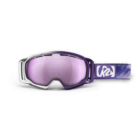 K2 Captura Pro Ski Goggles, One Size, Signature 1/Pink/Silver Tripic Mirror