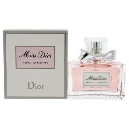 Christian Dior Miss Dior Absolutely Blooming Eau de Parfum For Women, 1.7 Oz (Christian Dior Mist)