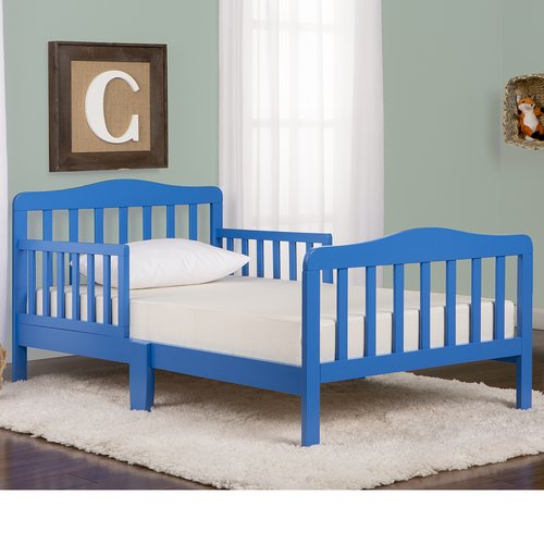 Dream On Me Classic Design Toddler Bed, Cool Gray by Dream On Me