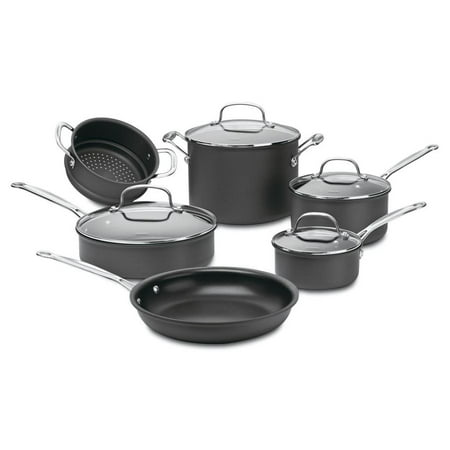 Cuisinart Anodized Cookware - Cuisinart Chef'S Classic Non-Stick Hard Anodized 10 Pc. Set