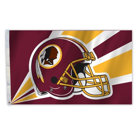 WASH. REDSKINS Helmet 3X5 Flag