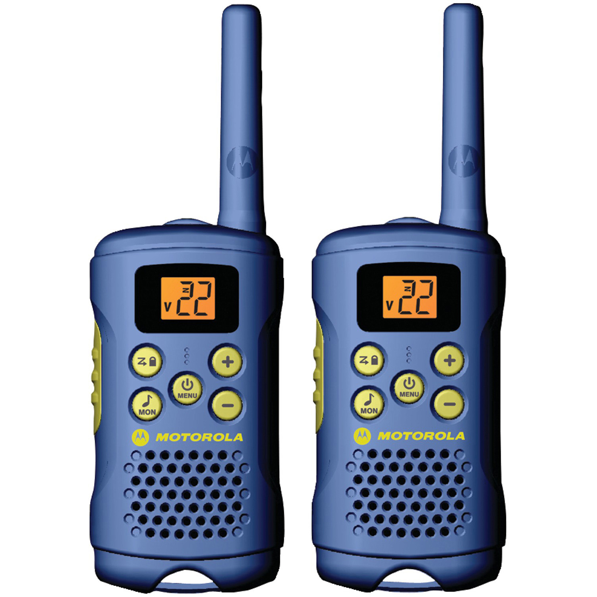 Motorola MG160A -16 Mile Talkabout 2-Way Radios (Blue), PAIR