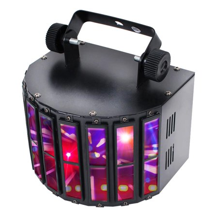 Led Light System - PYLE PDJLT20 - Multi-Color LED Stage Light - DJ Sound & Studio Lighting System