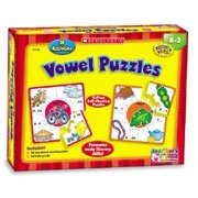 Scholastic Hands-On Learning Vowels Puzzles