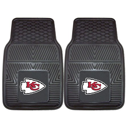 Kansas City Chiefs 2-pc Vinyl Car Mats 17