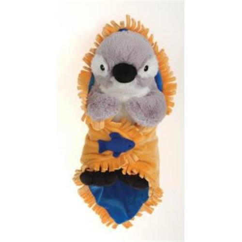 "Image of 11"" Penguin Blanket Babies Plush Stuffed Animal Toy by Fiesta Toys"