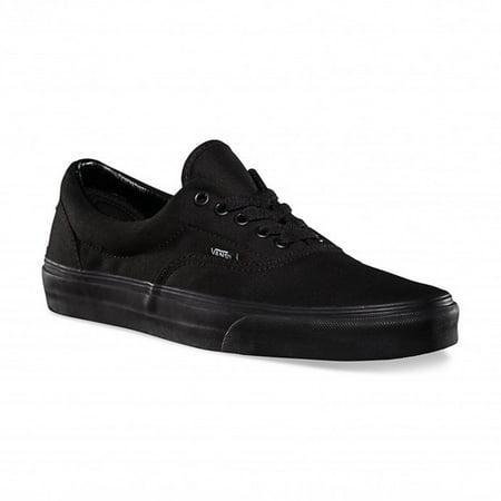 Vans - vans era black black skate shoes 5 men us   6.5 women us  (black black) - Walmart.com eff79a2e9