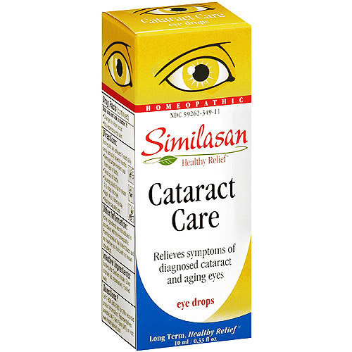 Cataract drops