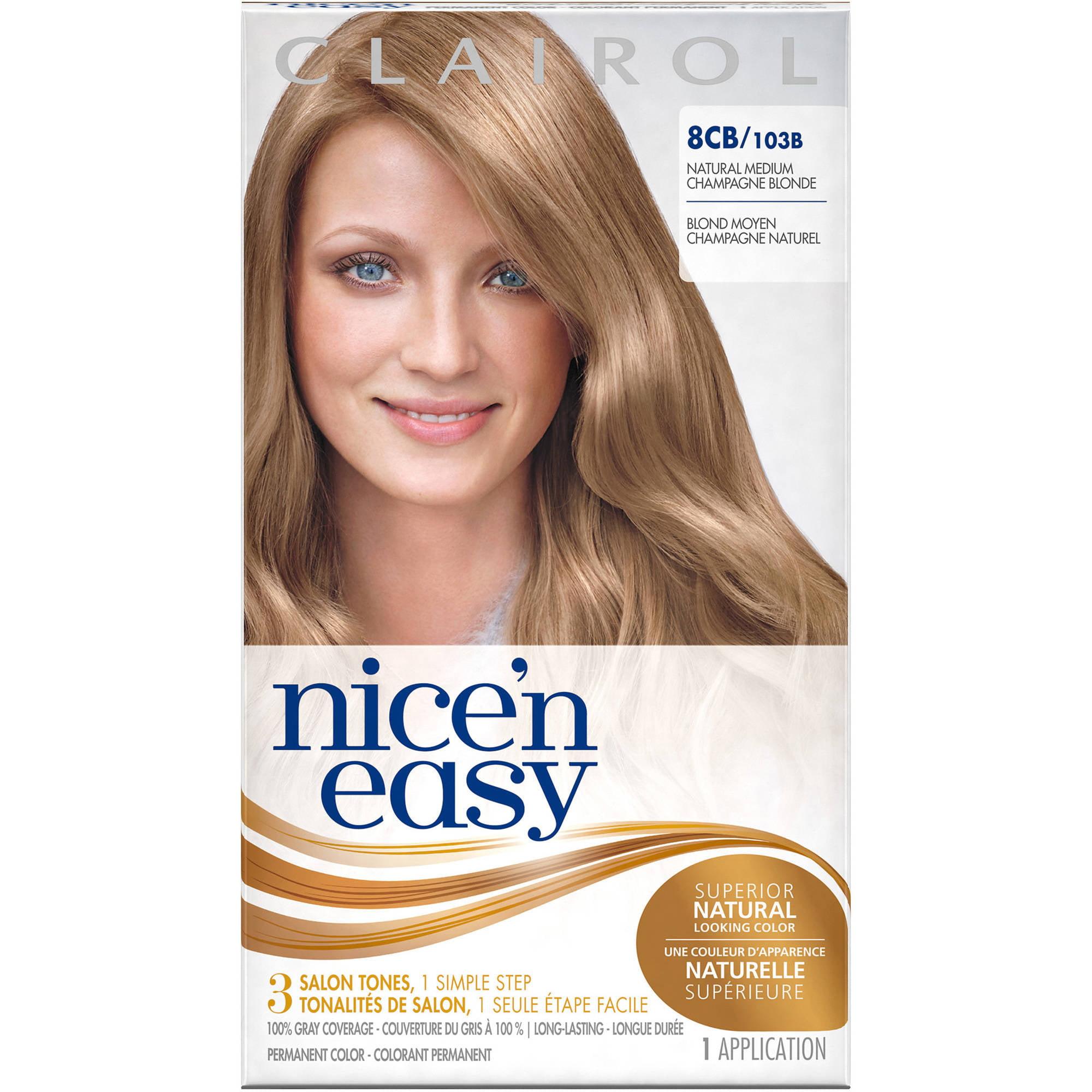 Clairol Nice N Easy Permanent Hair Color Kit 8cb Natural