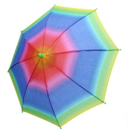 3 Colors Outdoor Foldable Sun Umbrella Hat Golf Fishing Camping Headwear Cap Head Hats, headwear umbrella, rain umbrella hat](Head Umbrella Hat)