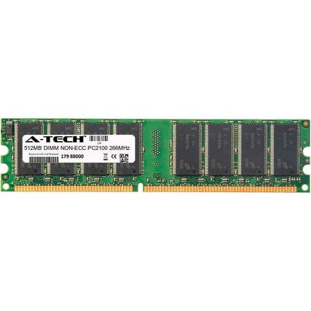- 512MB Module PC2100 266MHz NON-ECC DDR DIMM Desktop 184-pin Memory Ram