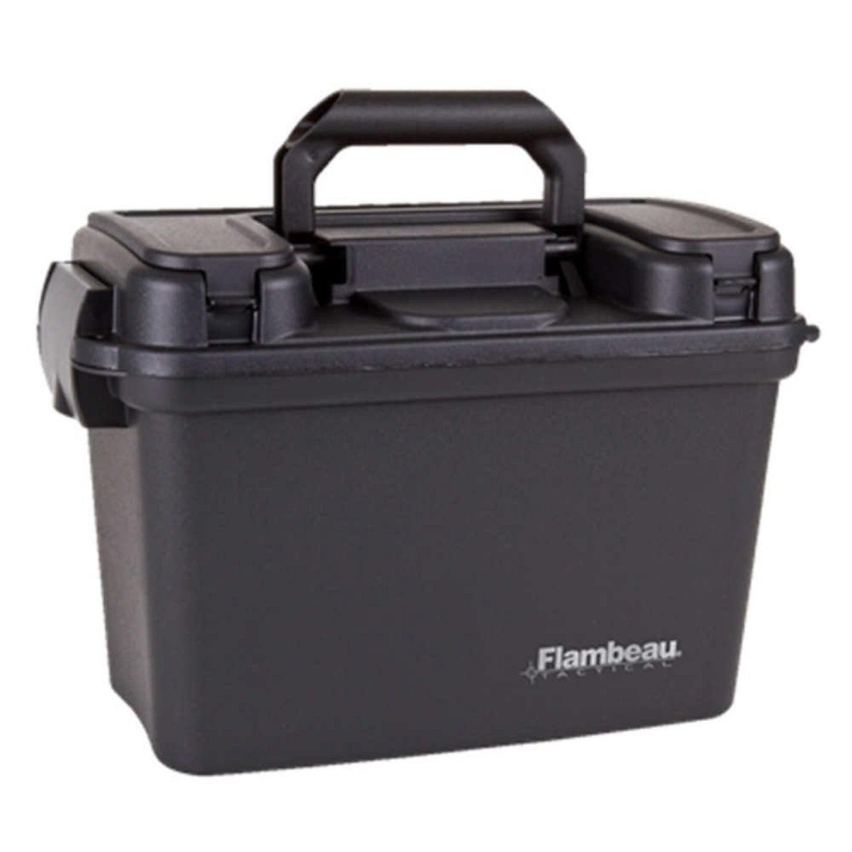 Flambeau 14in Dry Box Black Tactical