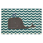 Mohawk Home Oh Whale Area Rug