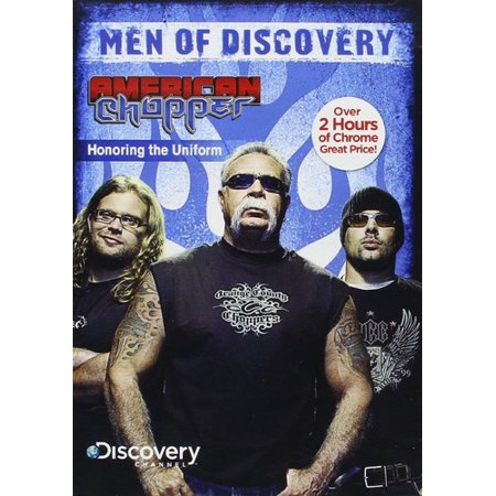 Men Of Discovery: American Chopper - Honoring The Uniform