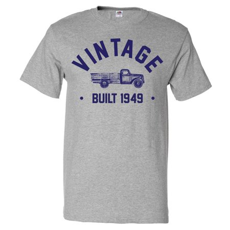 70th Birthday Gift T shirt 70 Years Old Present 1949 Truck Tee
