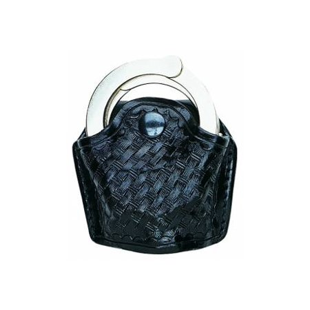 Image of Aker Leather Aker - 506 Slim Open Standard Chain Link Handcuff Case -