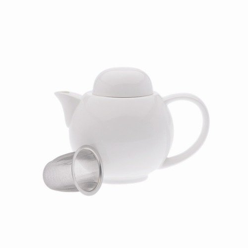 Maxwell & Williams White Basics 4 Cup Teapot and Strainer