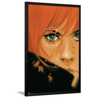 Avengers Assemble Panel Featuring Black Widow Lamina Framed Poster Wall Art  - 26x38