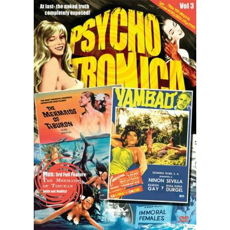 Psychotronica Vol. 3: The Mermaids of Tiburon / Yambao (DVD)