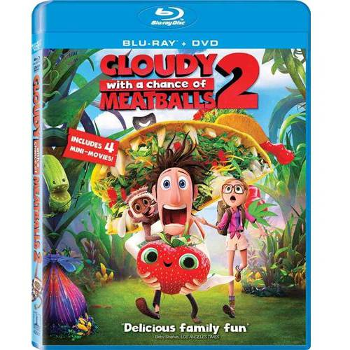 Cloudy With A Chance Of Meatballs 2 (Blu-ray + DVD) (With INSTAWATCH) (Widescreen)