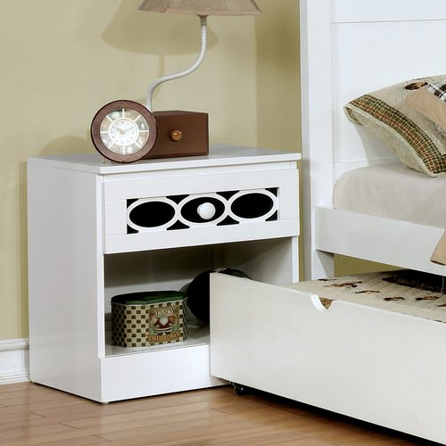 Zoomie Kids Stephon Contemporary 1 Drawer Nightstand