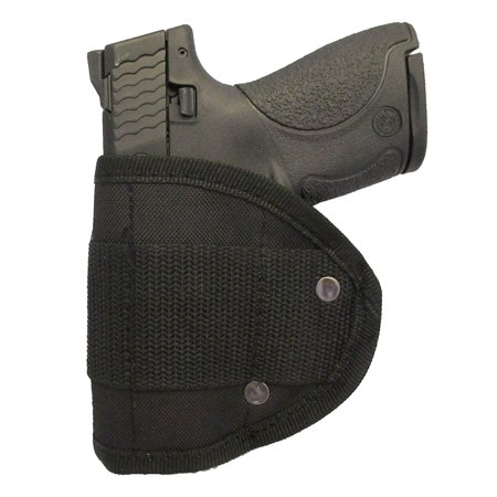 Inside Waistband Poly Woven Sling Holster Fits Smith & Wesson M&P Shield 9mm & 40c IWB (M3) by Garrison (Smith And Wesson Shield 9mm Magazine Loader)