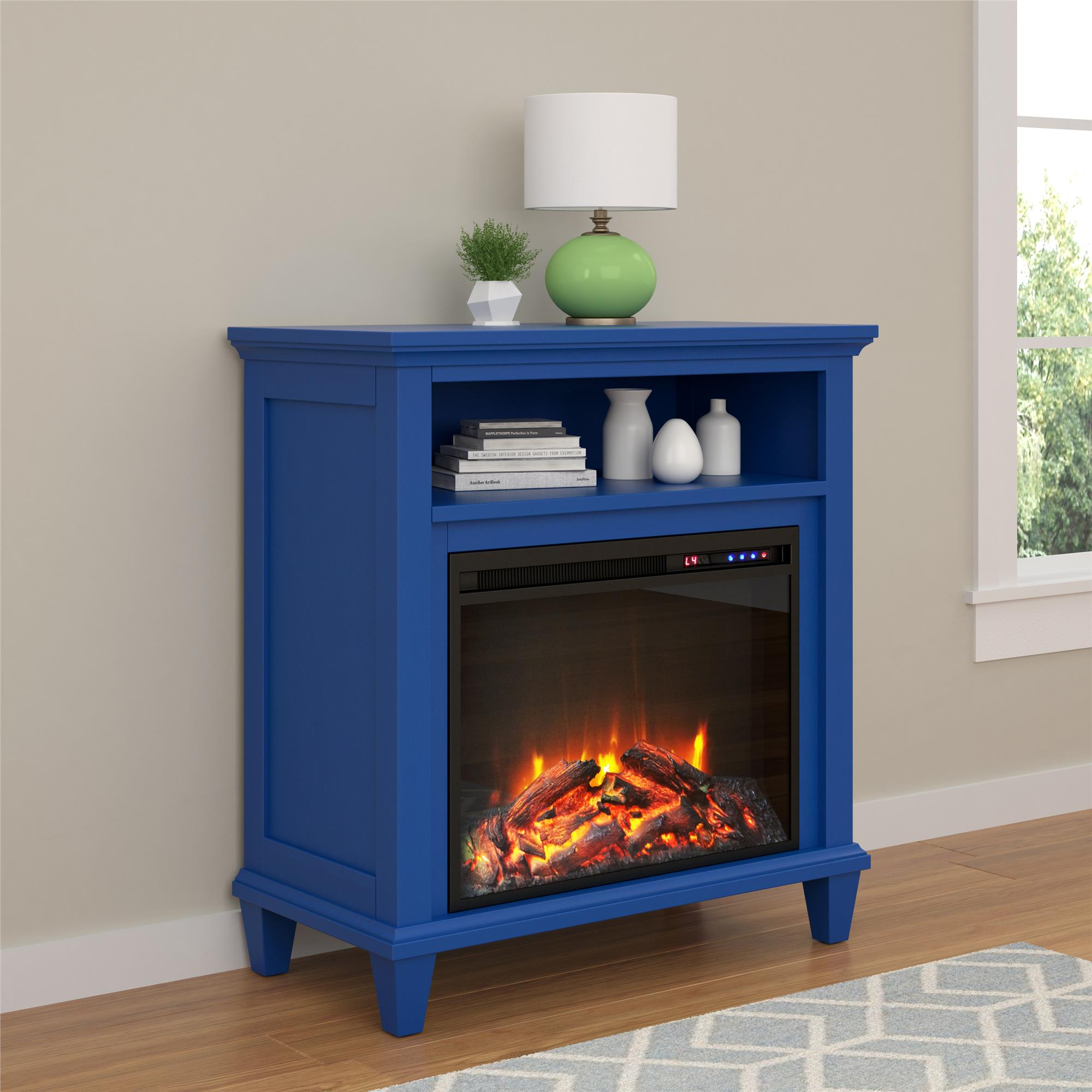 "Altra Ellington 32"" TV Stand with Fireplace, Multiple Colors"