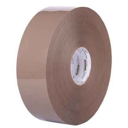 Carton Sealing Tape,Tan,72mmx914m,PK4 ZORO SELECT 31HJ39