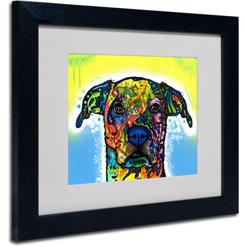 "Trademark Fine Art ""Fiesta"" Canvas Art by Dean Russo, Black Frame"