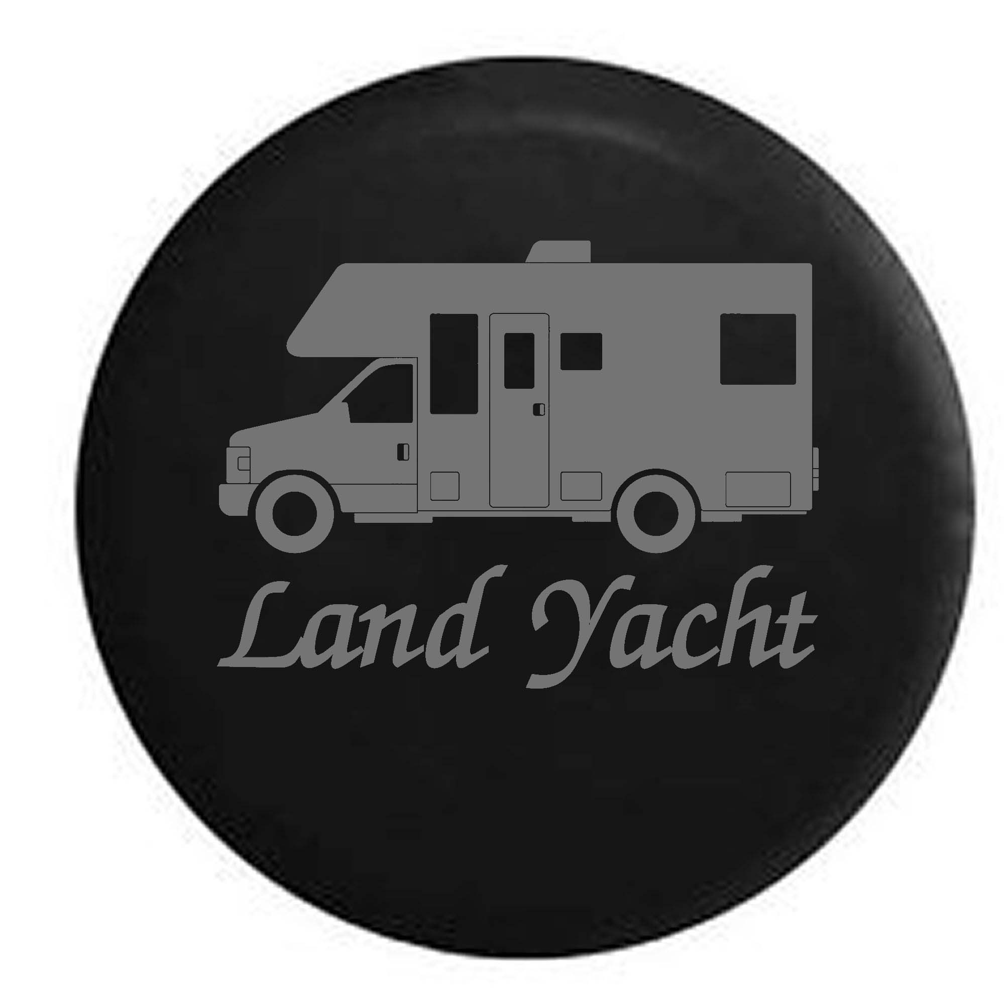 Recreational Vehicle RV Land Yacht Camper Trailer Spare T...