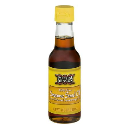 2.5 Ounce Oil - Imperial Dragon 100% Pure Sesame Seed Oil, 5 fl oz