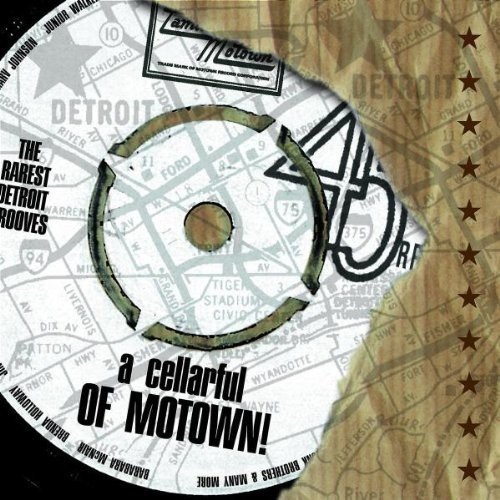 A Cellarful Of Motown: The Rarest Motown Grooves (CD)