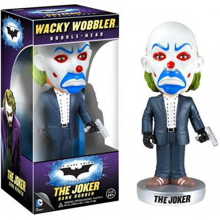 Joker Head (Funko Batman The Dark Knight Wacky Wobbler The Joker Bobble Head [Bank)