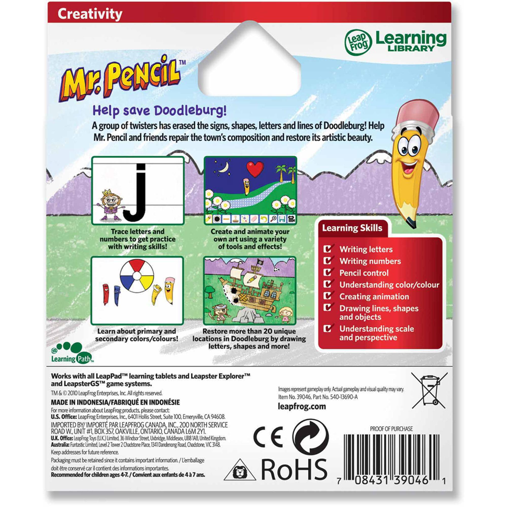 LeapFrog Explorer & LeapPad Learning Game: Mr. Pencil Saves ...
