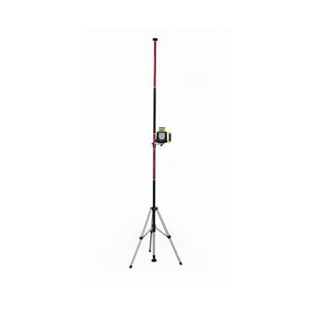 Line Mounting - AdirPro Telescoping Pole with Tripod and Mount for Rotary and Line Lasers