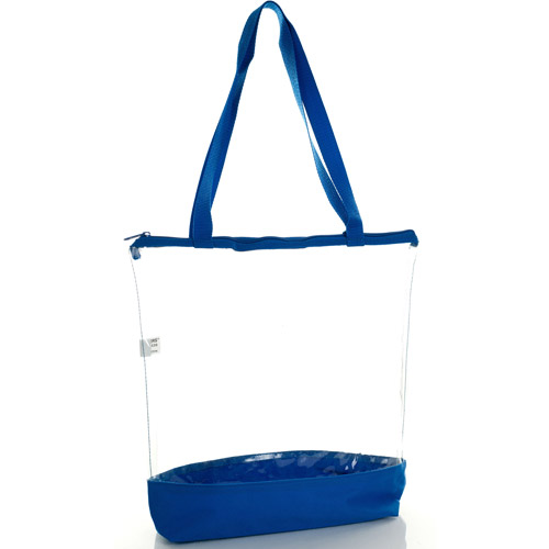 Toppers Easy Find Clear Vinyl Tote With