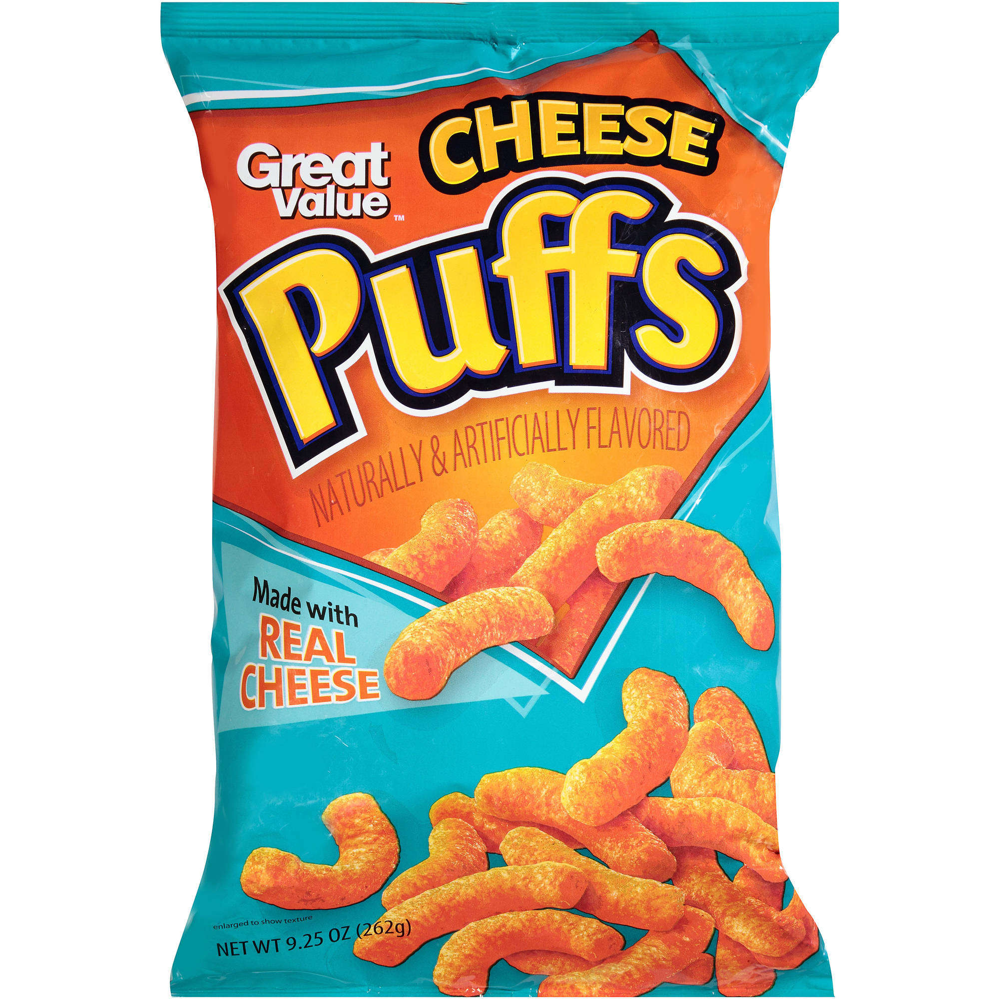 Great Value Cheese Puffs, 9.25 oz