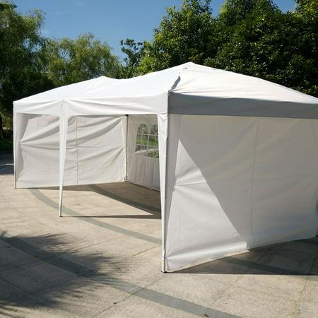 Zimtown 10 X20 Ez Pop Up Wedding Party Tent Folding